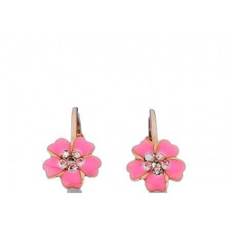 Auksiniai auskarai gėlytės - Auksiniai auskarai - Goldinga