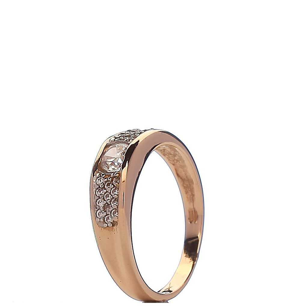 Auksinis žiedas 001666400287 - Auksiniai žiedai - Goldinga