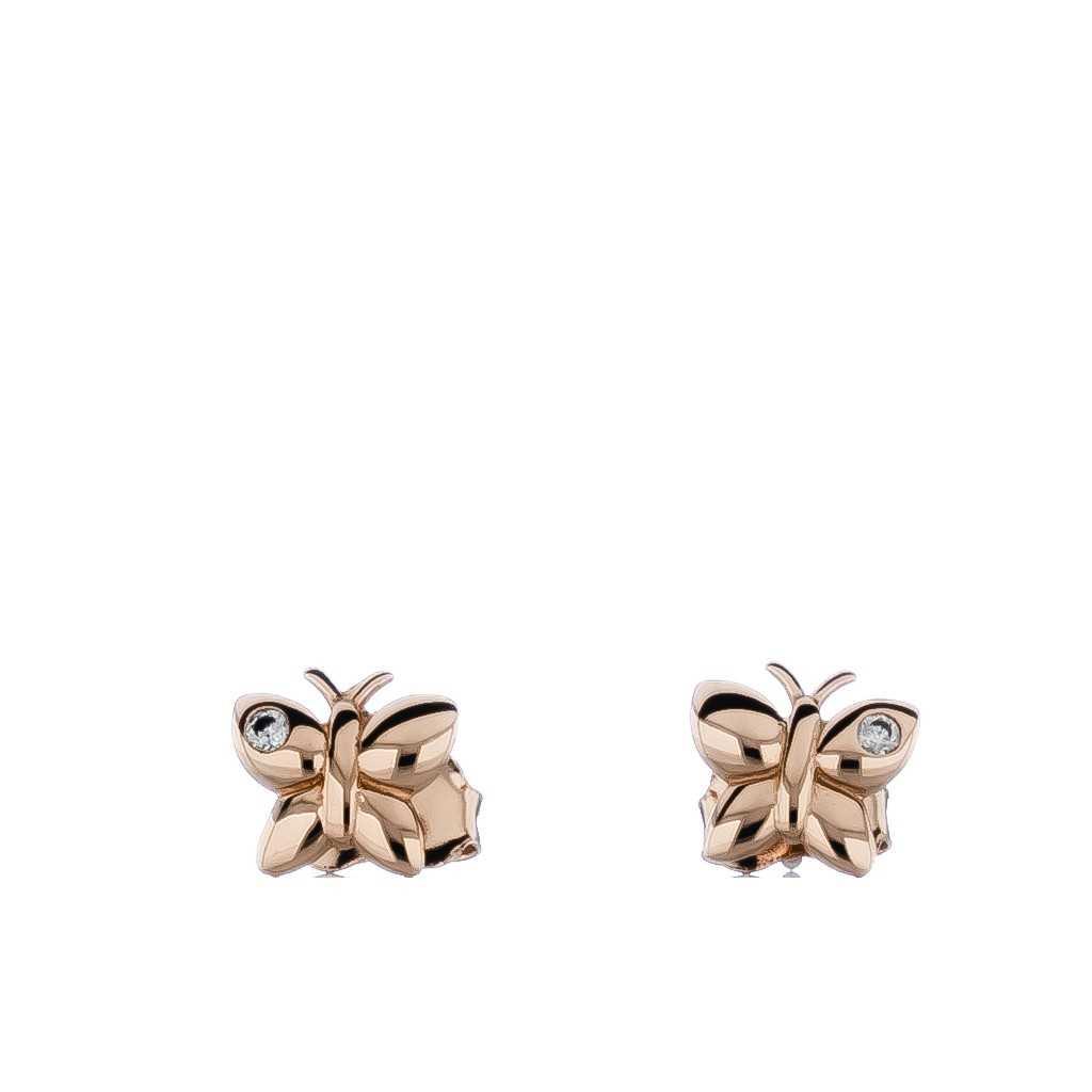 Auksiniai auskarai drugelis - Auksiniai auskarai - Goldinga