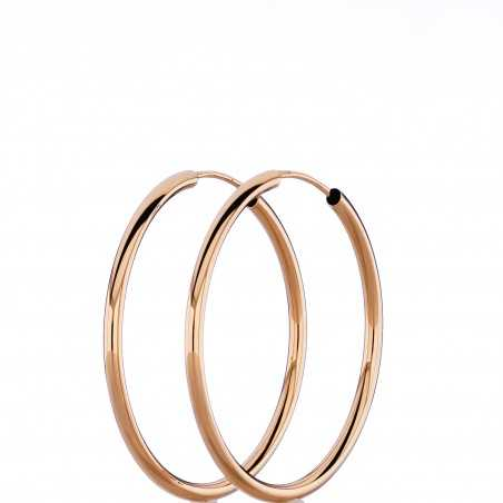 Auksiniai auskarai 34mm - Auksiniai auskarai - Goldinga