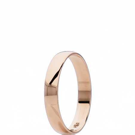 Auksinis vestuvinis žiedas 3mm - Vestuviniai žiedai - Goldinga