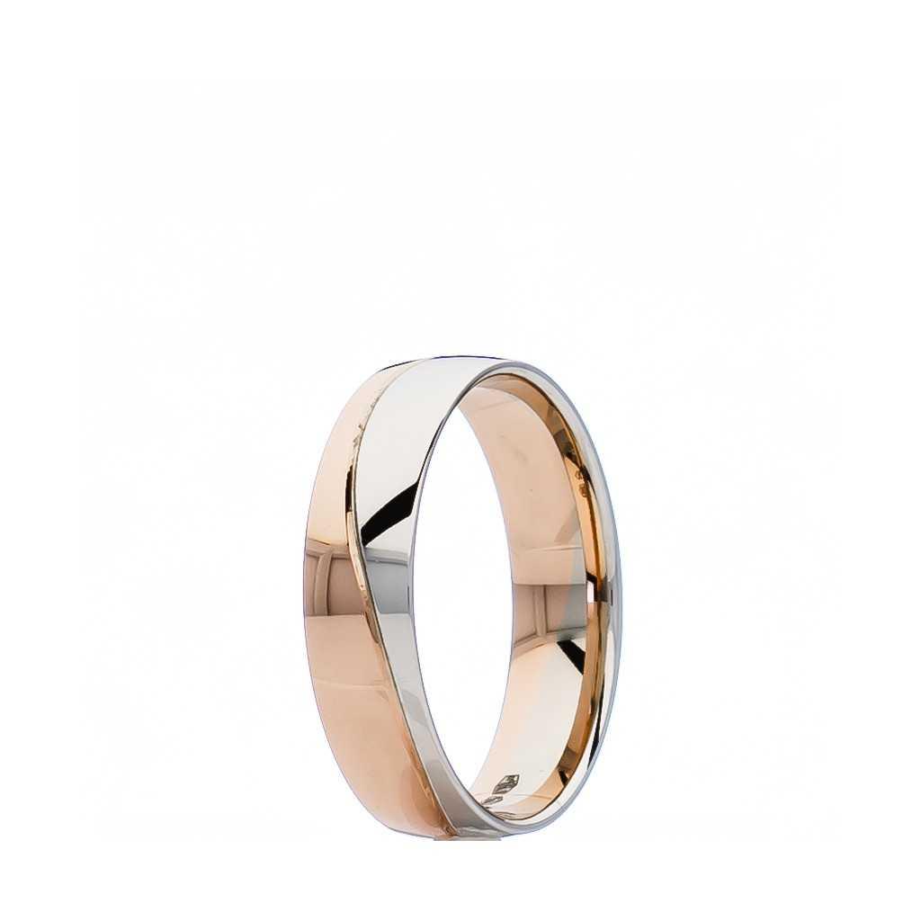 Auksinis vestuvinis žiedas 5.5mm su komfortu - Vestuviniai žiedai - Goldinga
