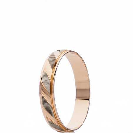 Auksinis vestuvinis žiedas 4mm - Vestuviniai žiedai - Goldinga