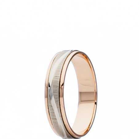 Auksinis vestuvinis žiedas 5mm - Vestuviniai žiedai - Goldinga
