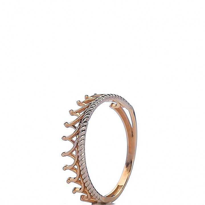 Auksinis žiedas 004696400109 - Auksiniai žiedai - Goldinga