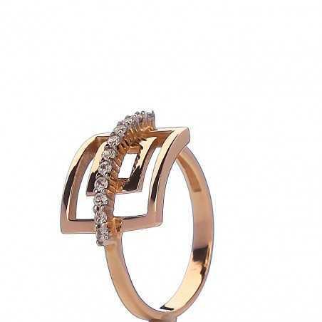 Auksinis žiedas 00493 - Auksiniai žiedai - Goldinga