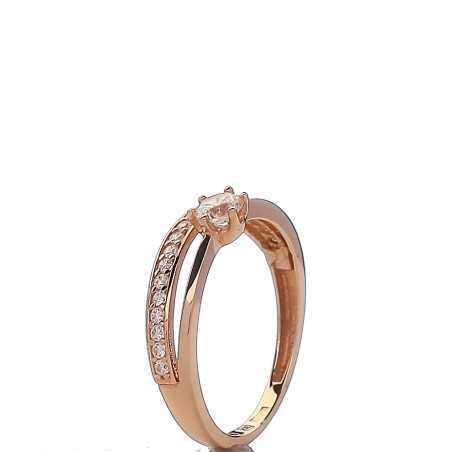 Auksinis žiedas 005058200171 - Auksiniai žiedai - Goldinga