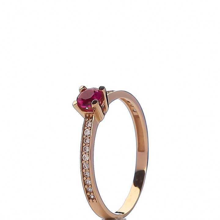 Auksinis žiedas 002659200132 - Auksiniai žiedai - Goldinga