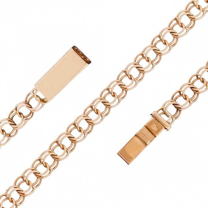 """Auksinė grandinėlė """"Bismark"""" 5mm - Auksinės grandinėlės - Goldinga"""