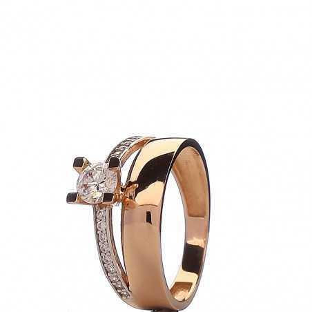 Auksinis žiedas 00483 - Auksiniai žiedai - Goldinga