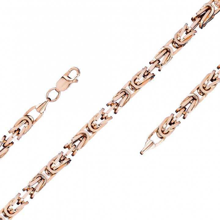 """Auksinė grandinėlė """"Royal python"""" 3mm - Auksinės grandinėlės - Goldinga"""
