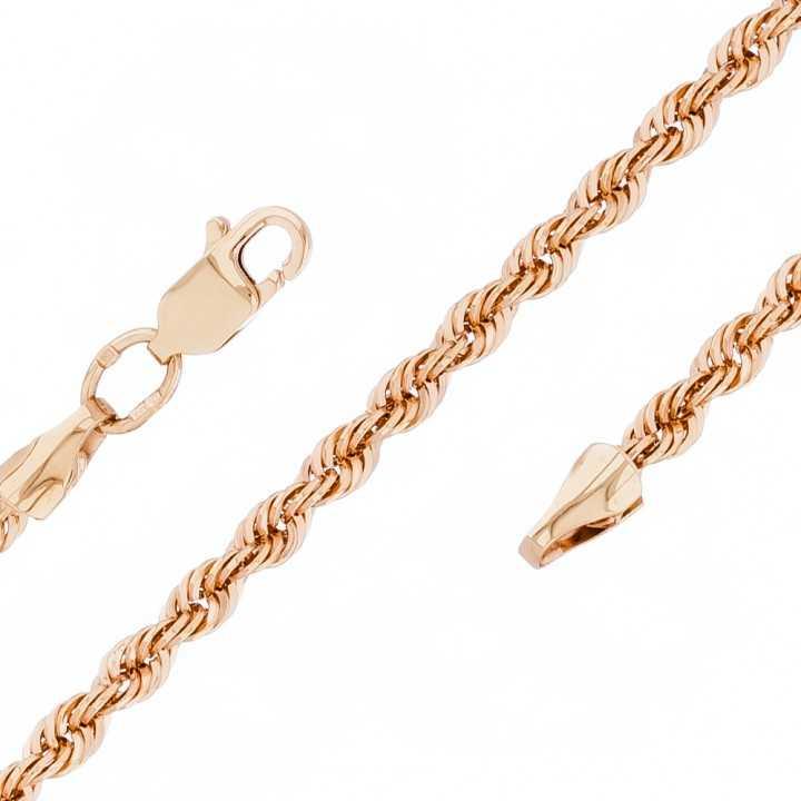 """Auksinė grandinėlė """"Rope"""" 3.1mm - Auksinės grandinėlės - Goldinga"""