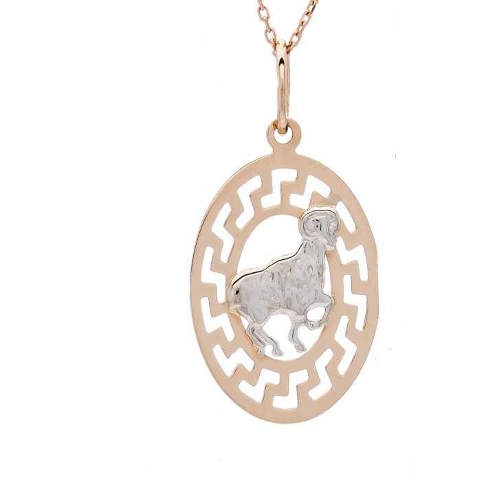 """Auksinis pakabukas """"avinas"""" - Zodiako ženklai - Goldinga"""