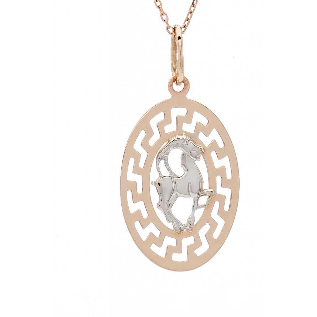 """Auksinis pakabukas """"Ožiaragis"""" - Zodiako ženklai - Goldinga"""