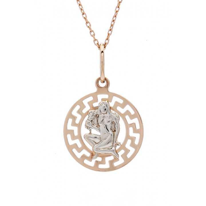 """Auksinis pakabukas """"Mergelė"""" - Zodiako ženklai - Goldinga"""