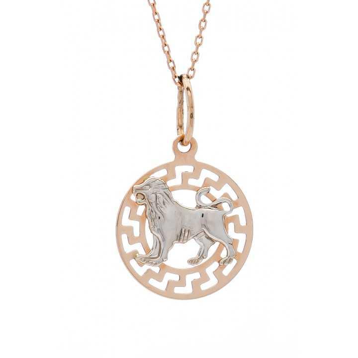 """Auksinis pakabukas """"Liūtas"""" - Zodiako ženklai - Goldinga"""