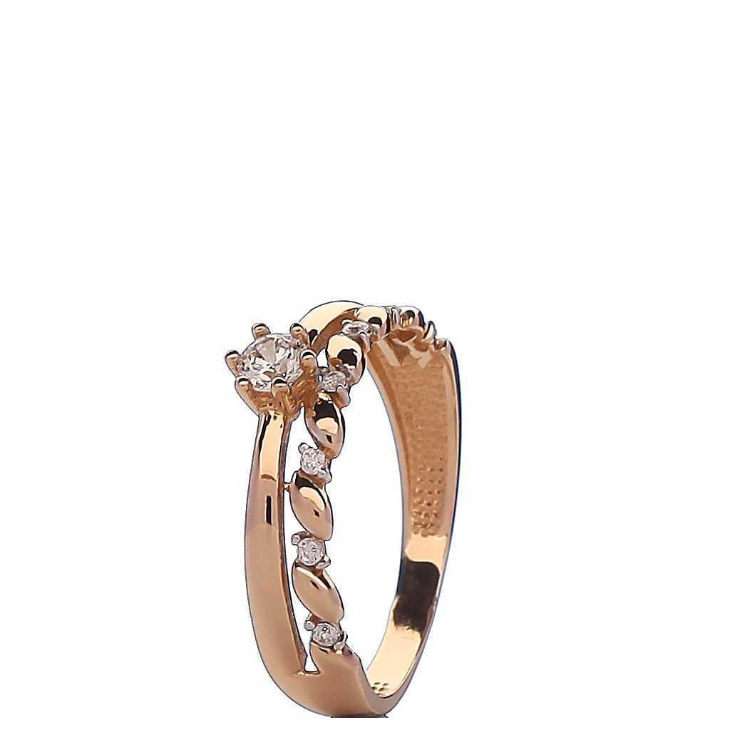 Auksinis žiedas 00559 - Auksiniai žiedai - Goldinga