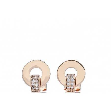 Auksiniai auskarai su cirkoniai - Auksiniai auskarai - Goldinga