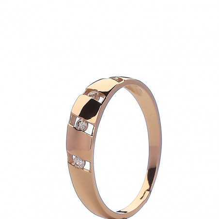 Auksinis žiedas 005685900285 - Auksiniai žiedai - Goldinga