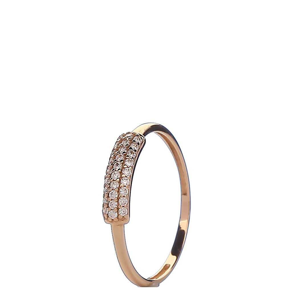 Auksinis žiedas 00538 - Auksiniai žiedai - Goldinga