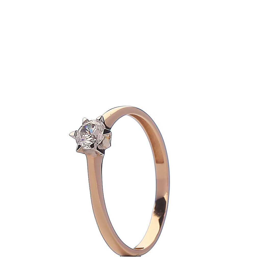 Auksinis žiedas 00593 - Auksiniai žiedai - Goldinga