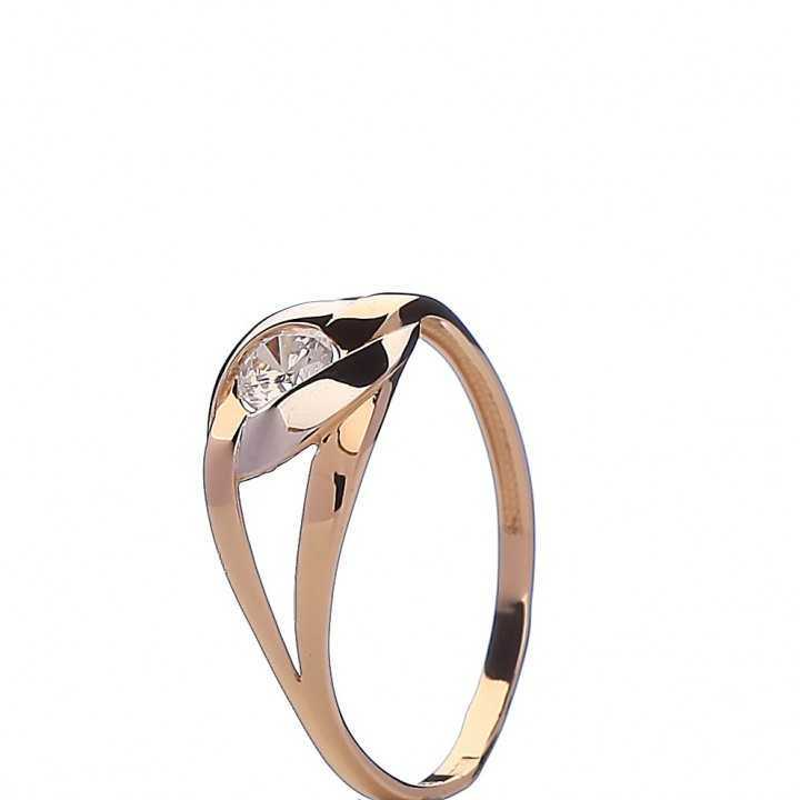 Auksinis žiedas 005717900182 - Auksiniai žiedai - Goldinga