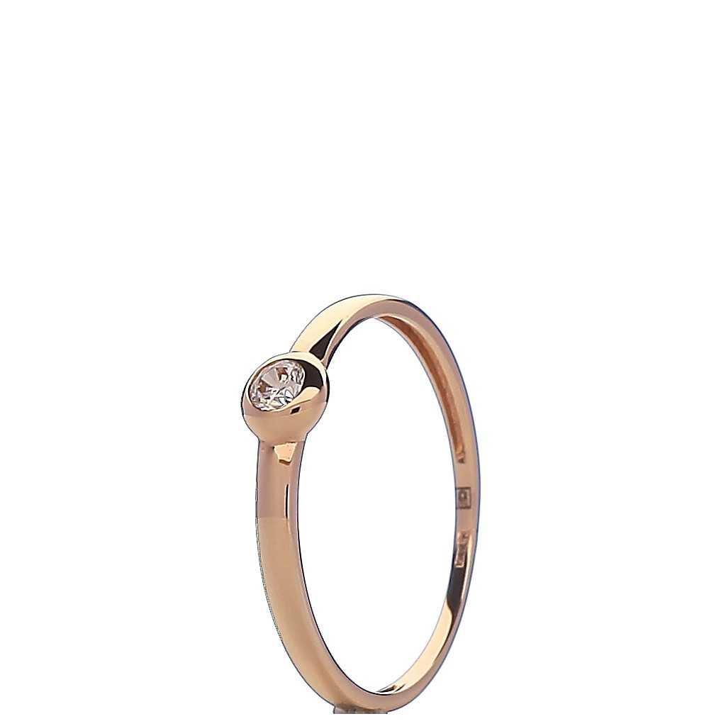 Auksinis žiedas 00501 - Auksiniai žiedai - Goldinga