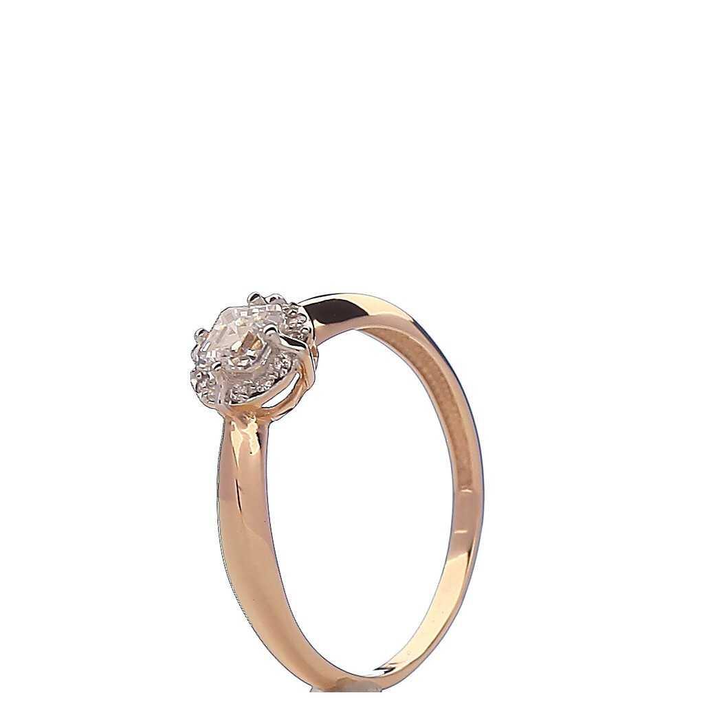 Auksinis žiedas 00502 - Auksiniai žiedai - Goldinga