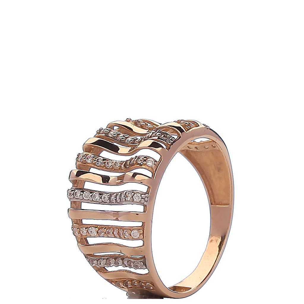 Auksinis žiedas 000046300320 - Auksiniai žiedai - Goldinga