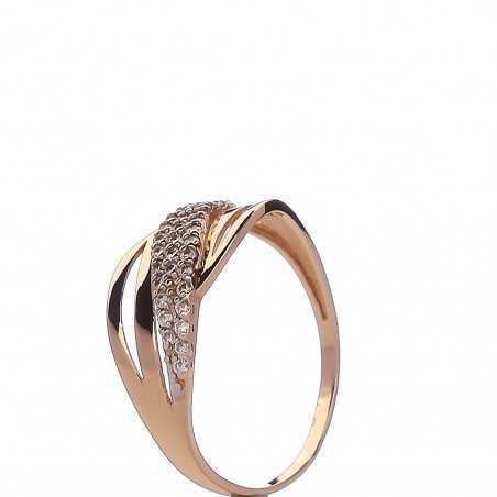 Auksinis žiedas 00569 - Auksiniai žiedai - Goldinga