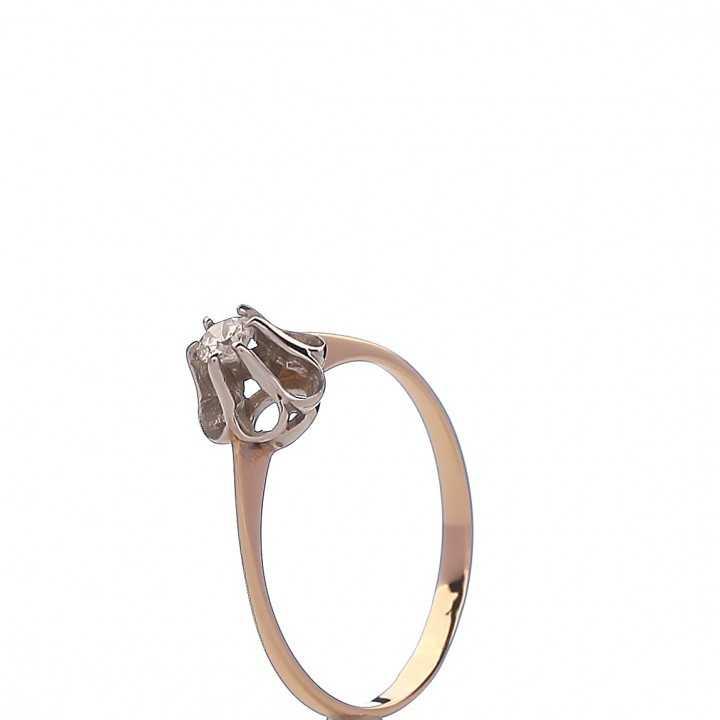 Auksinis žiedas 00580 - Auksiniai žiedai - Goldinga