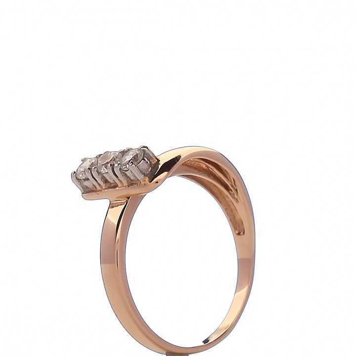 Auksinis žiedas 000014400317 - Auksiniai žiedai - Goldinga