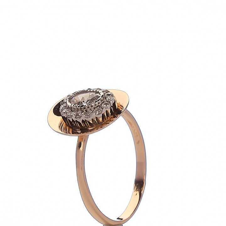 Auksinis žiedas 001076100320 - Auksiniai žiedai - Goldinga