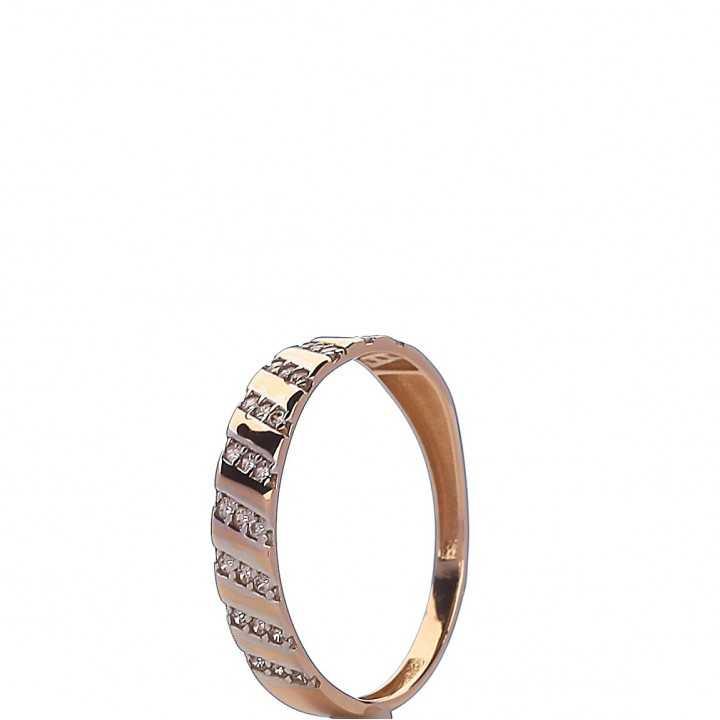 Auksinis žiedas 000050400151 - Auksiniai žiedai - Goldinga