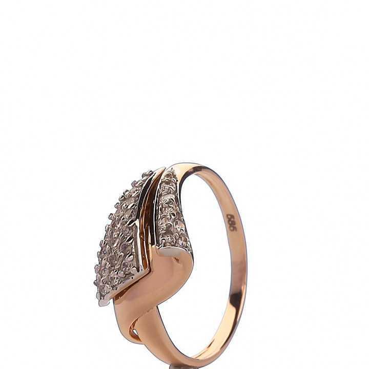 Auksinis žiedas 000055500300 - Auksiniai žiedai - Goldinga