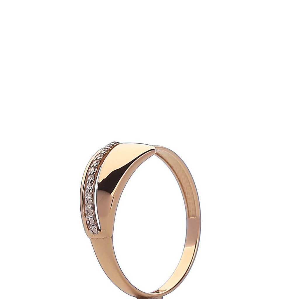 Auksinis žiedas 003222500145 - Auksiniai žiedai - Goldinga