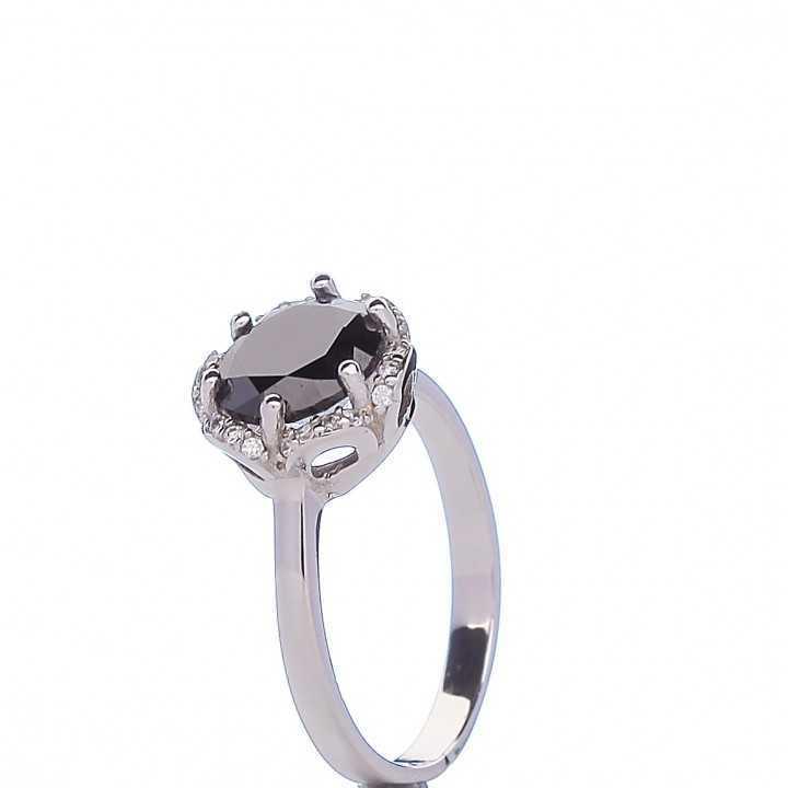 Sidabrinis žiedas 000306300290 - Sidabriniai žiedai - Goldinga