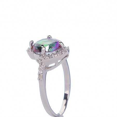 Sidabrinis žiedas 000310700280 - Sidabriniai žiedai - Goldinga