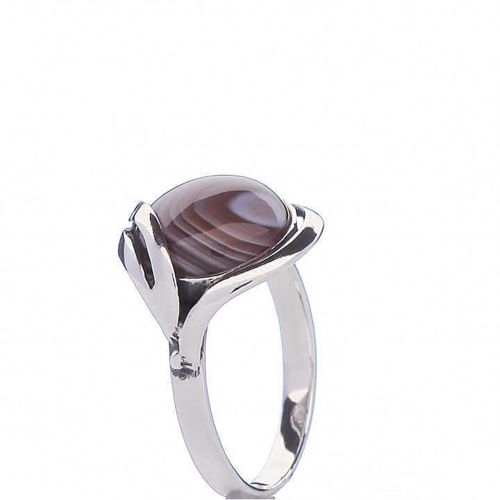 Sidabrinis žiedas 000293400470 - Sidabriniai žiedai - Goldinga
