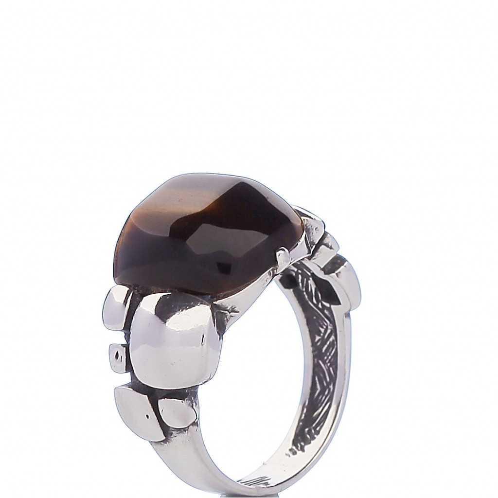 Sidabrinis žiedas 001741900620 - Sidabriniai žiedai - Goldinga