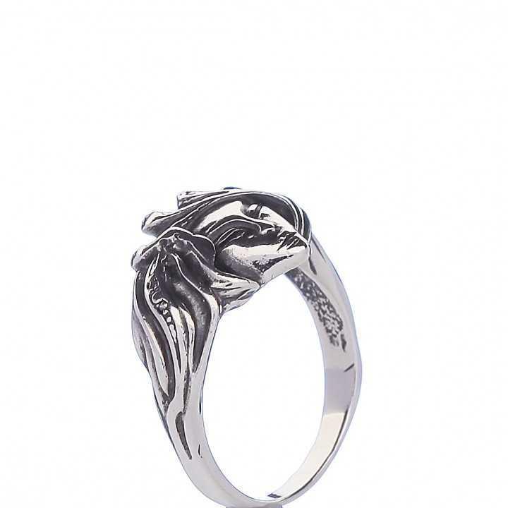 Sidabrinis žiedas 003051800490 - Sidabriniai žiedai - Goldinga