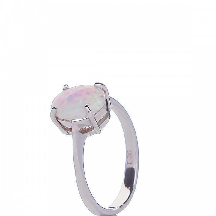 Sidabrinis žiedas 000293100250 - Sidabriniai žiedai - Goldinga