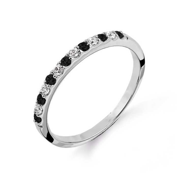 Balto aukso žiedas su...