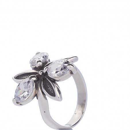 Sidabrinis žiedas 001222800520 - Sidabriniai žiedai - Goldinga