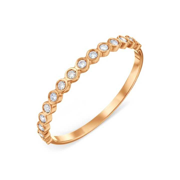 Auksinis žiedas su cirkoniais