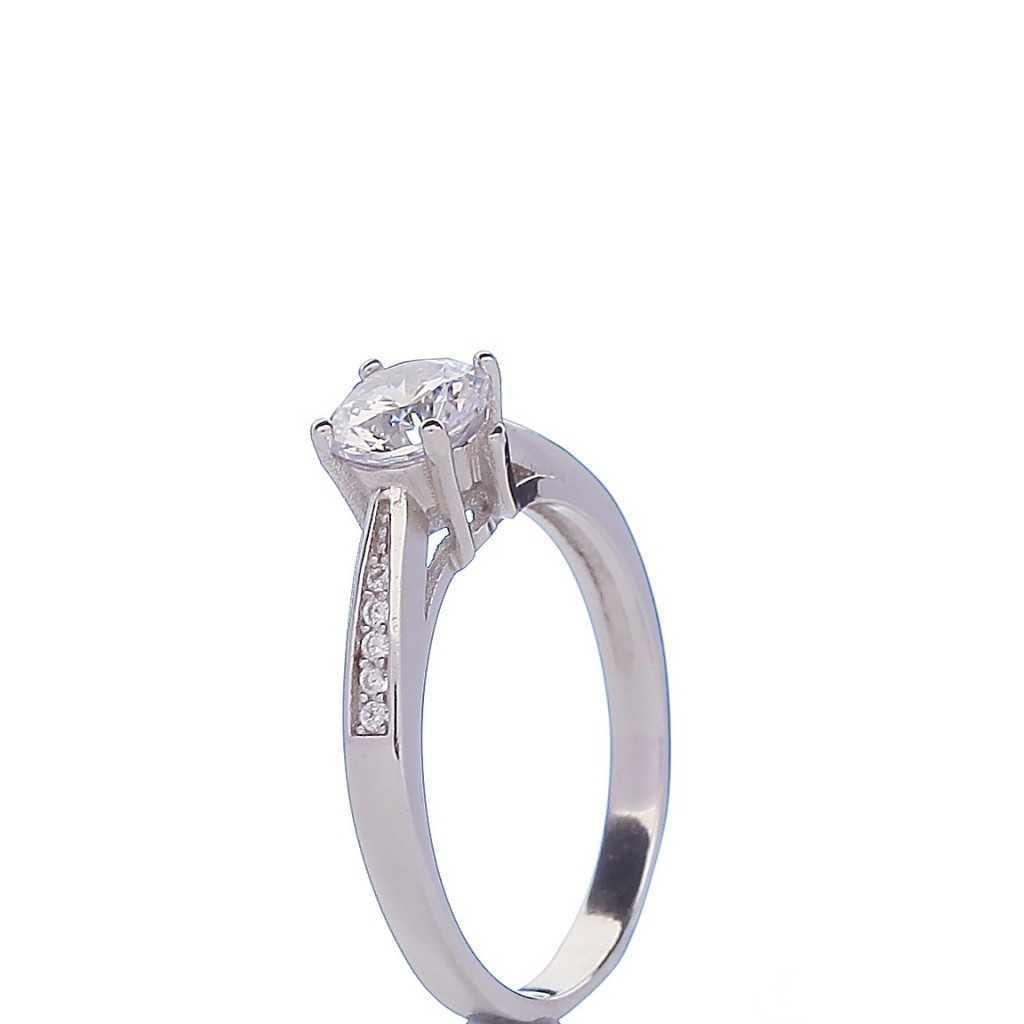 Sidabrinis žiedas 004870800280 - Sidabriniai žiedai - Goldinga