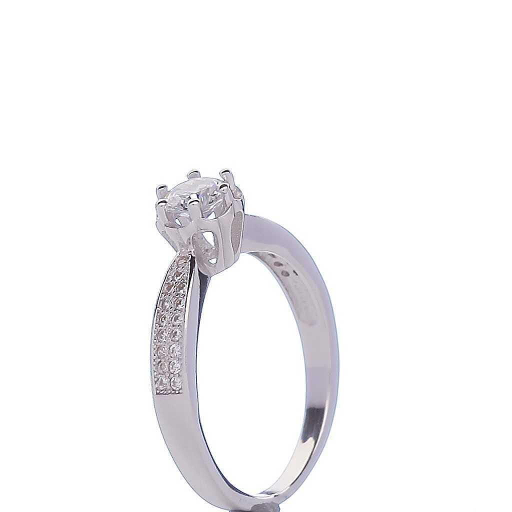 Sidabrinis žiedas 005665200250 - Sidabriniai žiedai - Goldinga