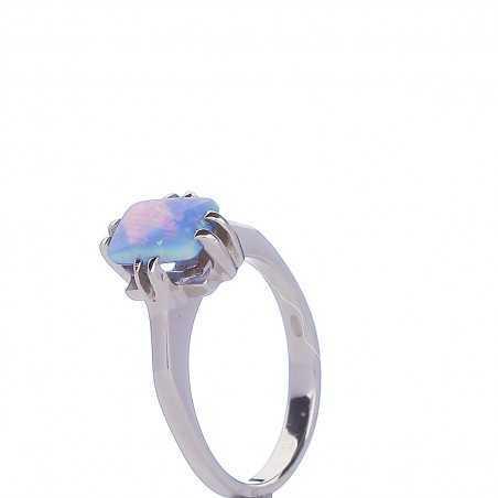 Sidabrinis žiedas 000294000300 - Sidabriniai žiedai - Goldinga
