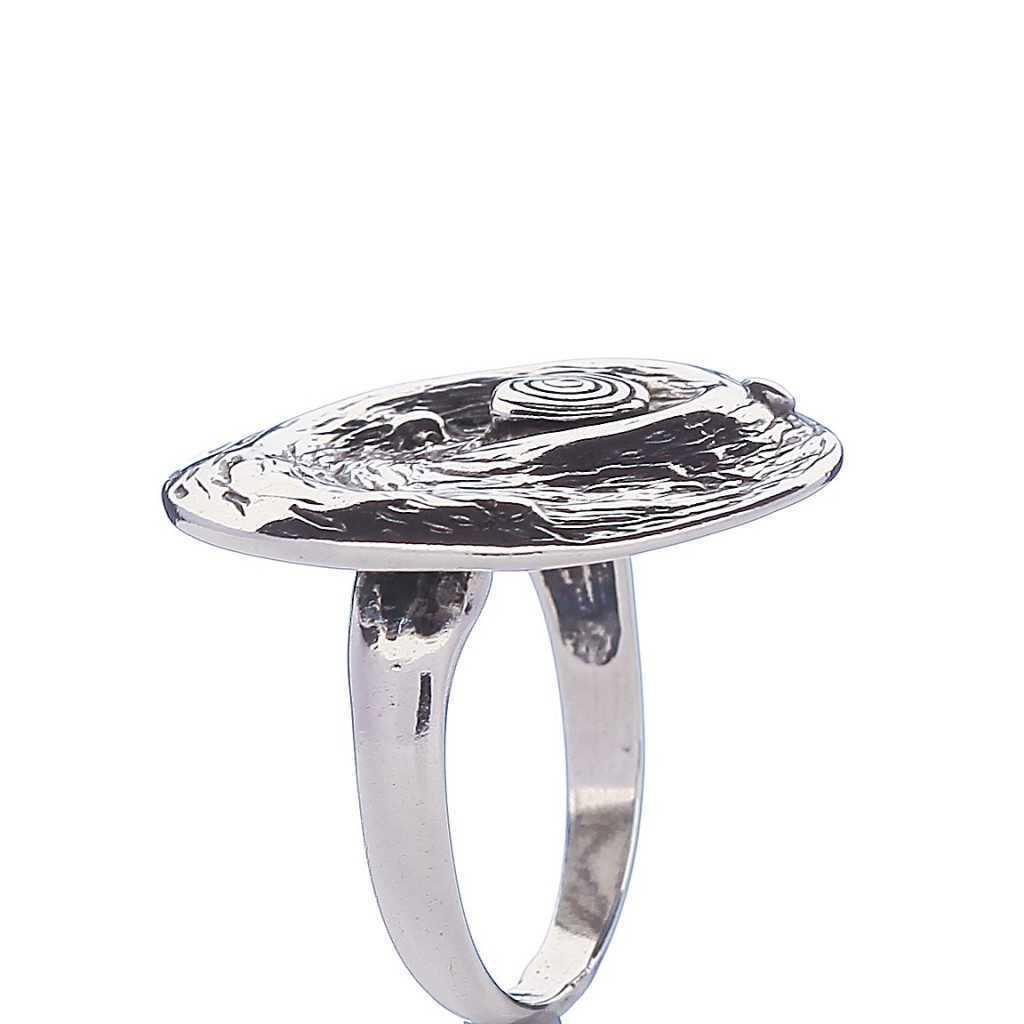 Sidabrinis žiedas 000290400620 - Sidabriniai žiedai - Goldinga