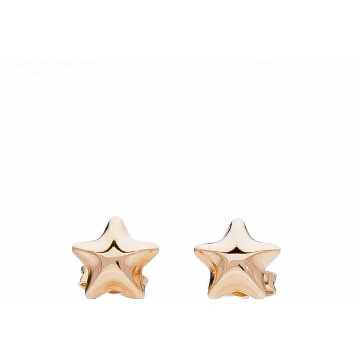 """Auksiniai auskarai """"Žvaigždutė"""" - Auksiniai auskarai - Goldinga"""